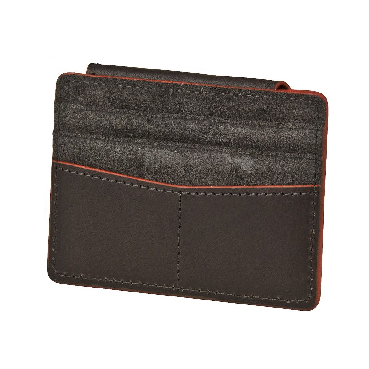 J.FOLD Mag Card Carrier - Brown